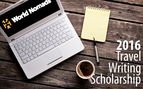 2016 Travel Writing Scholarship