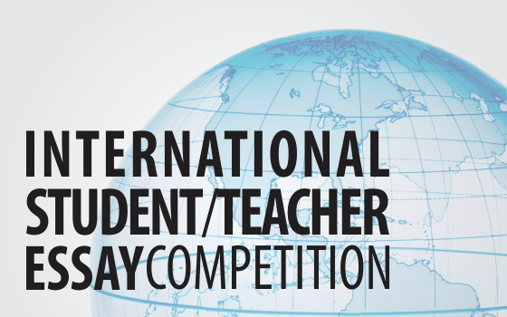 International Student/Teacher Essay Contest, 2016: Nationalism