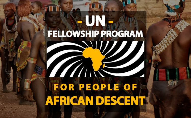 2018 Fellowship Program for People of African Descent