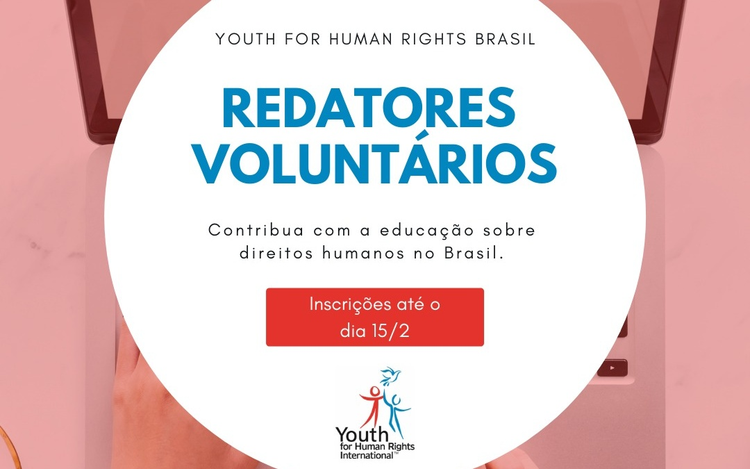 Time de Redatores - Youth for Human Rights Brasil