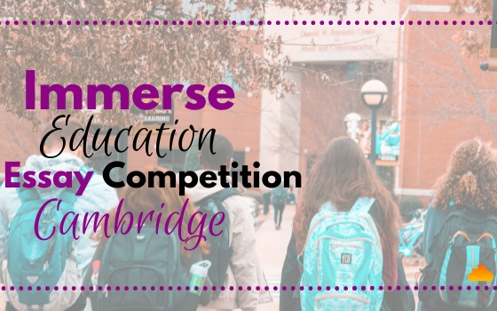 Immerse Education: Cambridge Essay Competition
